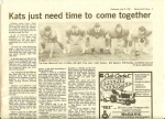 Kokomo Tribune HS football season review of KHS football team (special insert in paper - 8/21/85).