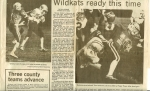 1st sectional game against Muncie Central. The Kats easily won 42-0 (Kokomo Tribune - 10/26/85).