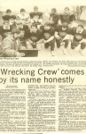 Kokomo's defensive unit the 'Wrecking Crew' got center stage attention for living up to its name (Kokomo Tribune - 11