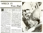 Football player quotes about the Kat's unbelievable season and particularly the 'Wrecking Crew' defense (1986 Sargass