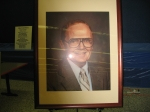 Close-up of the Harry McCool memorial portrait donated by the KHS Class of 86'.