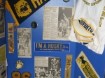 HHS Class of '86 memorabilia stand #4 (close-up).