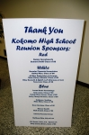 Listing of ALL of our reunion sponsors. Thank you very much to our sponsors!